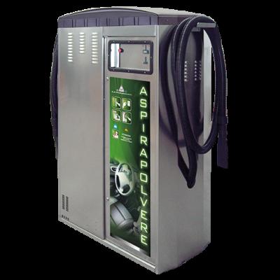 Kétoldalas Porszívó fekete ABS borítással (2.2 kW x 2)