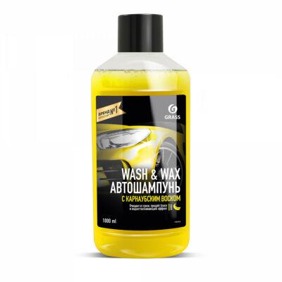 Wash & Wax Autósampon Carnauba viasszal 1L