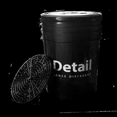 Szivacsoló vödör ráccsal (Fekete)